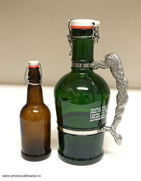 Botellas con tapa mecánica