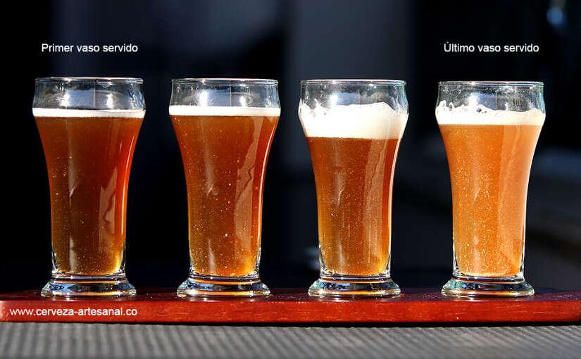 Desventajas de carbonatación natural en la aclaración natural de cerveza artesanal