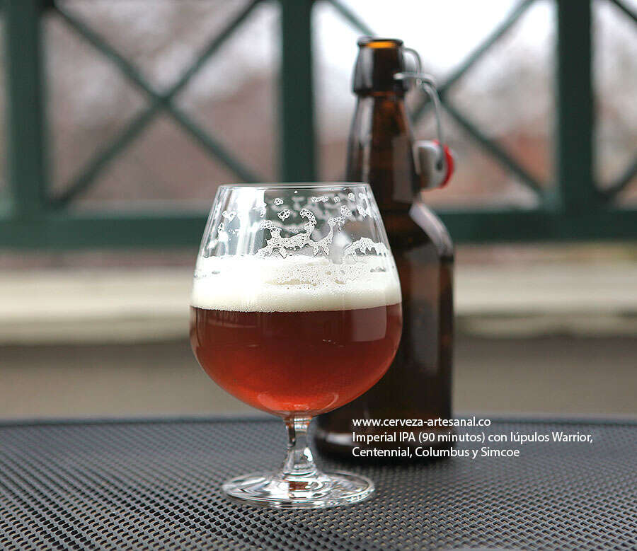 IPA Imperial – 90 minutos – (Warrior, Centennial, Columbus, Simcoe)