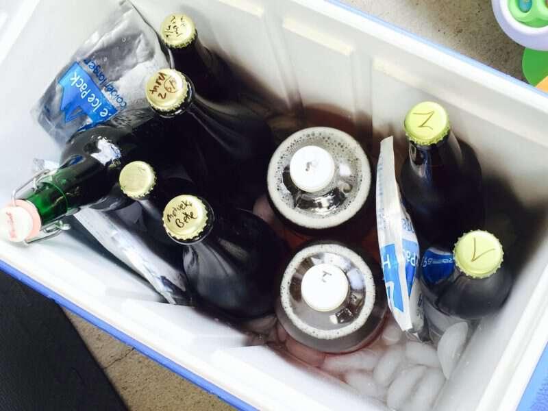 Comparte tu cerveza con tus amigos cerveceros