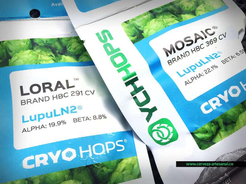 Cryo Hops, una nueva presentación de lúpulo desarrollada por YCH Hops