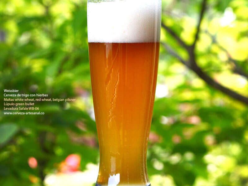 Weissbier – cerveza de trigo con lavanda y tréboles