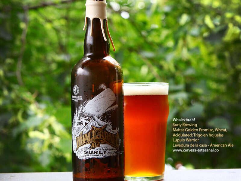 Cerveza Whalezbrah! edición extra limitada para el Homebrew Con 2017