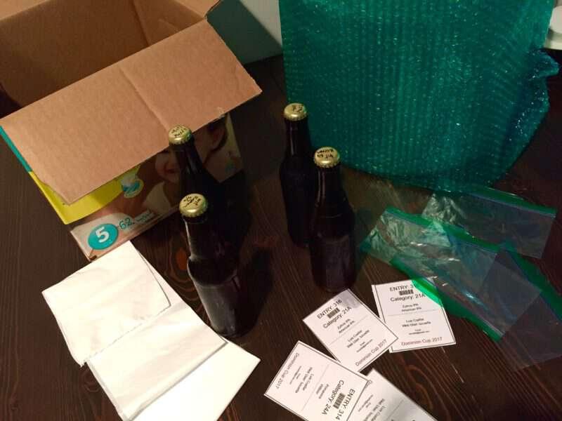 Como empacar cervezas para enviarlas por correo