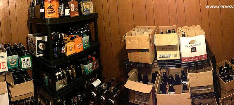 Carbonatación natural y acondicionamiento de cerveza en botellas