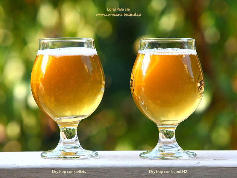 Loral Pale Ale, con lúpulos Cryo-Hops (LupuLN2)
