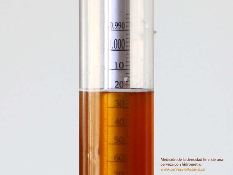 La importancia de la densidad final en las recetas de cerveza