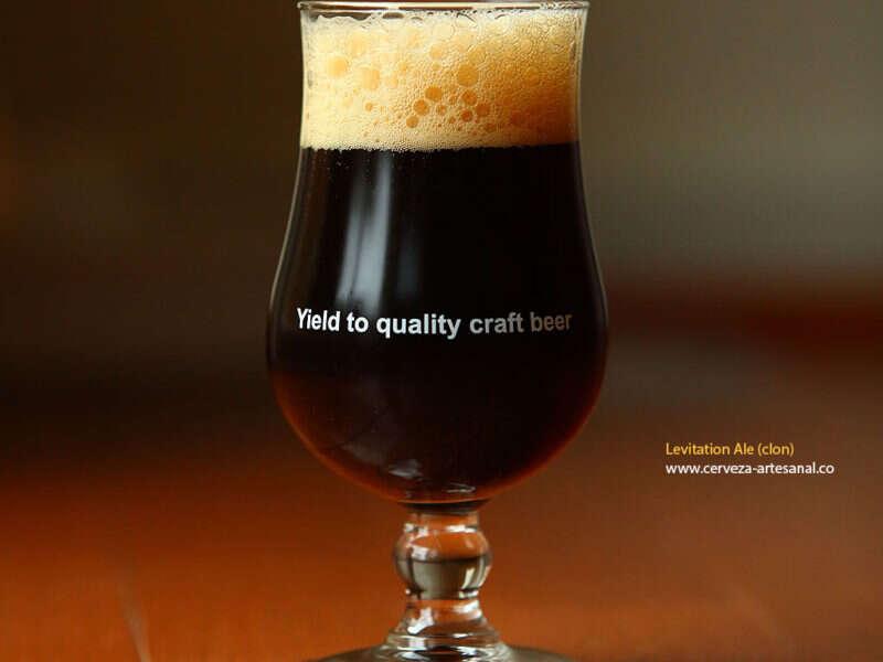 Levitation Ale – receta adaptada de una cerveza amber ale de Stone Brewing