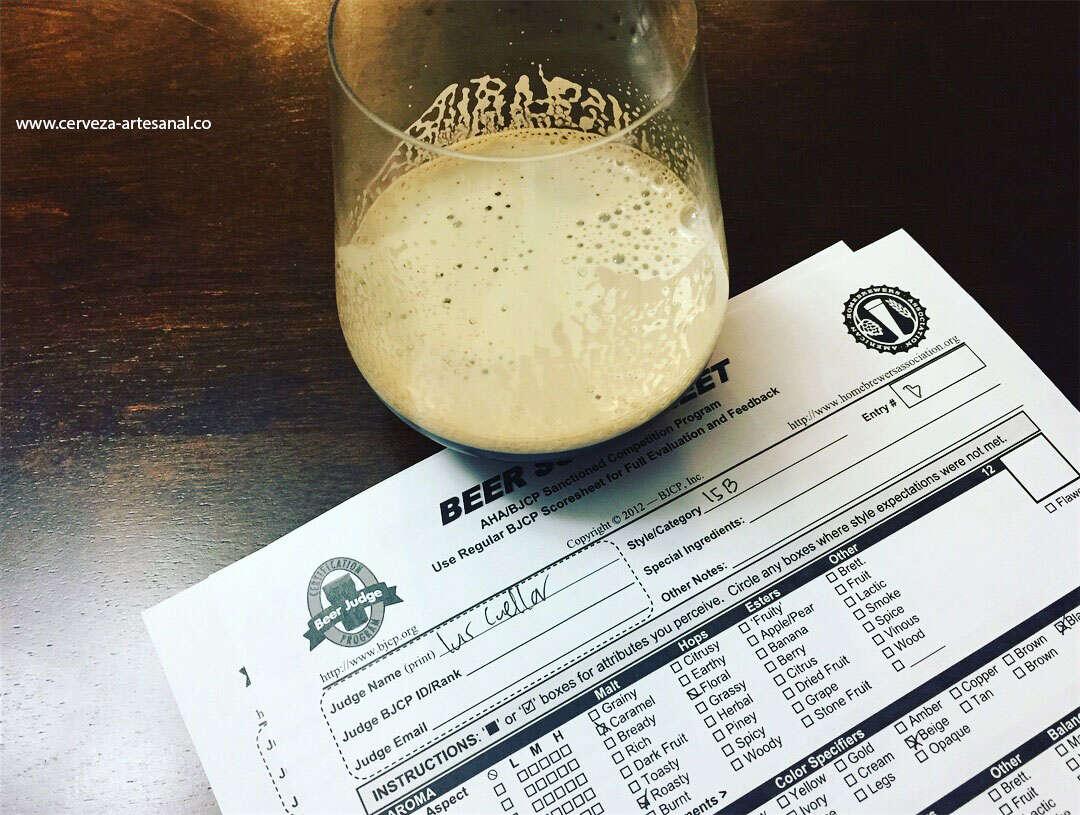 Análisis sensorial de cervezas según su estilo