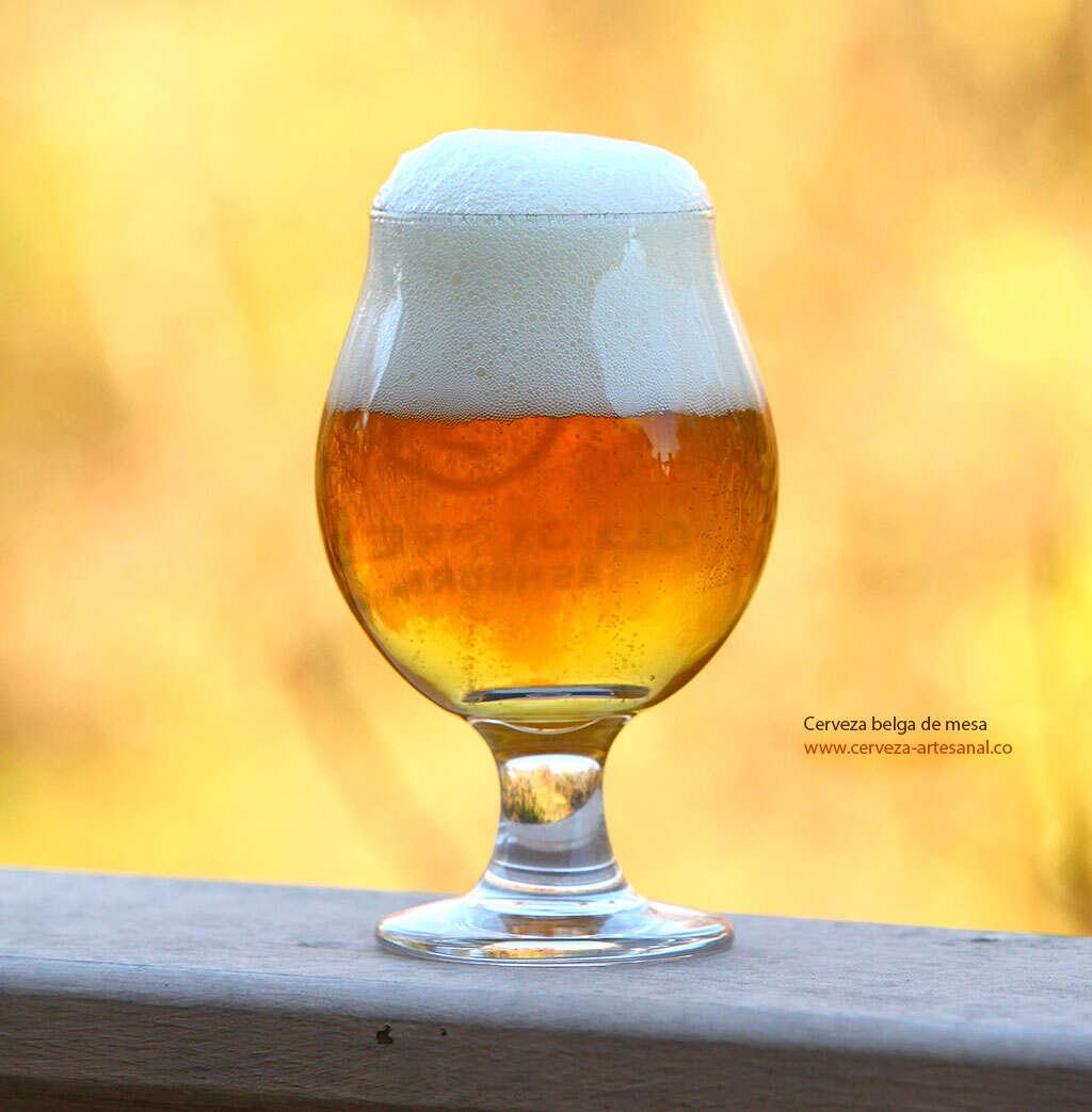 Cerveza belga de mesa