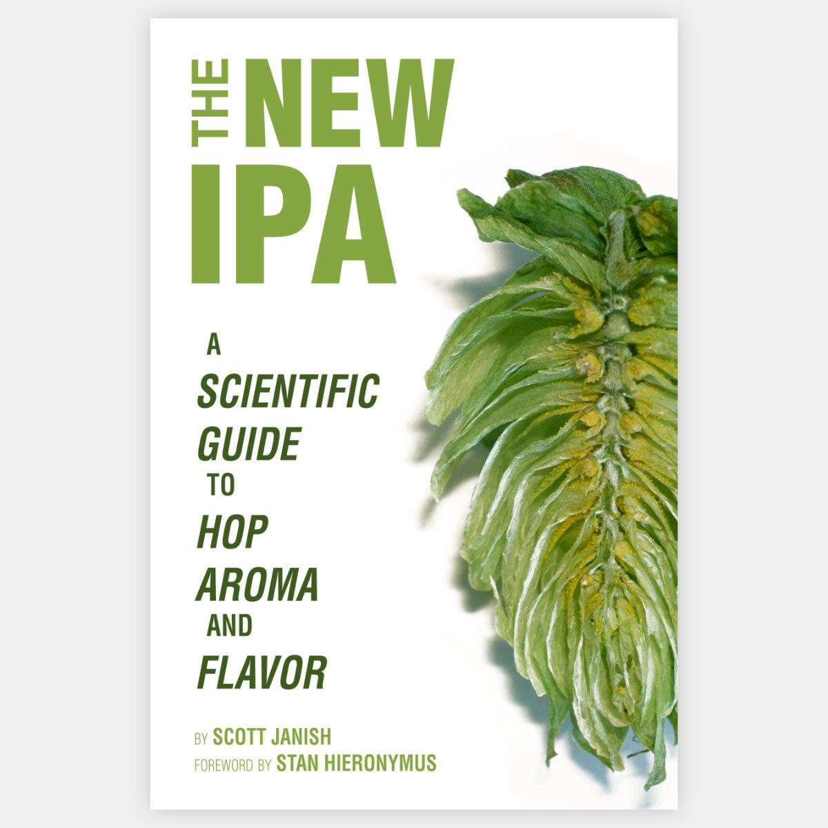 Scott Janish, cofundador de la cervecería Sapwood Cellars, y su libro sobre la nueva IPA