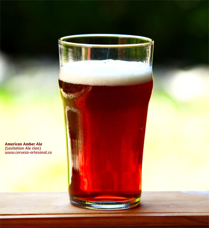 American Amber Ale (clon de Stone Levitation Ale)