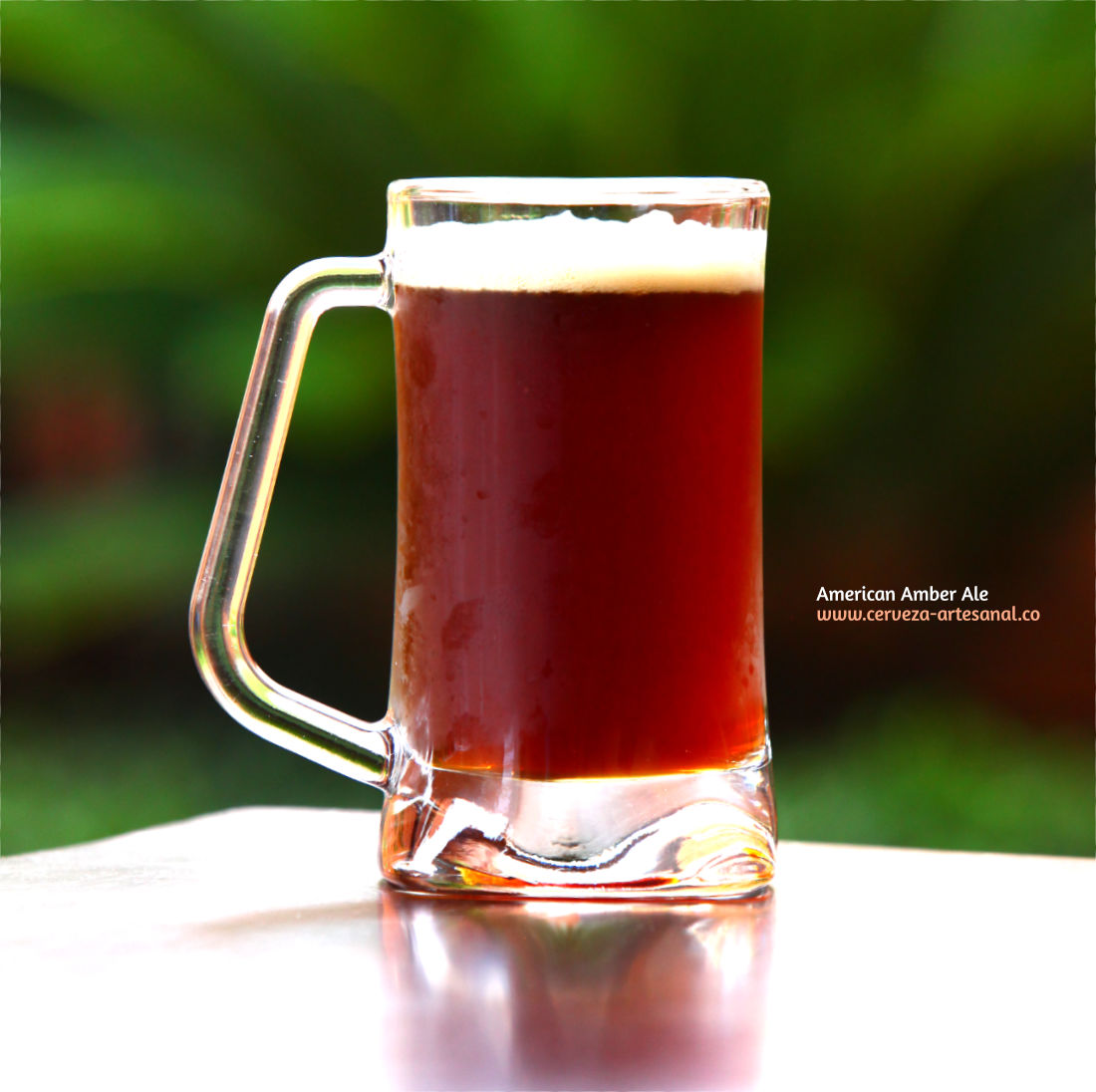 American Amber Ale fermentada con levadura kveik